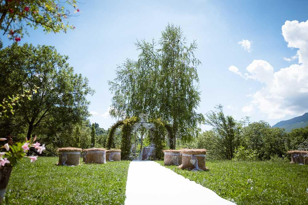 Giardino panoramico - scuderia della valle - organizzare un matrimonio civile originale