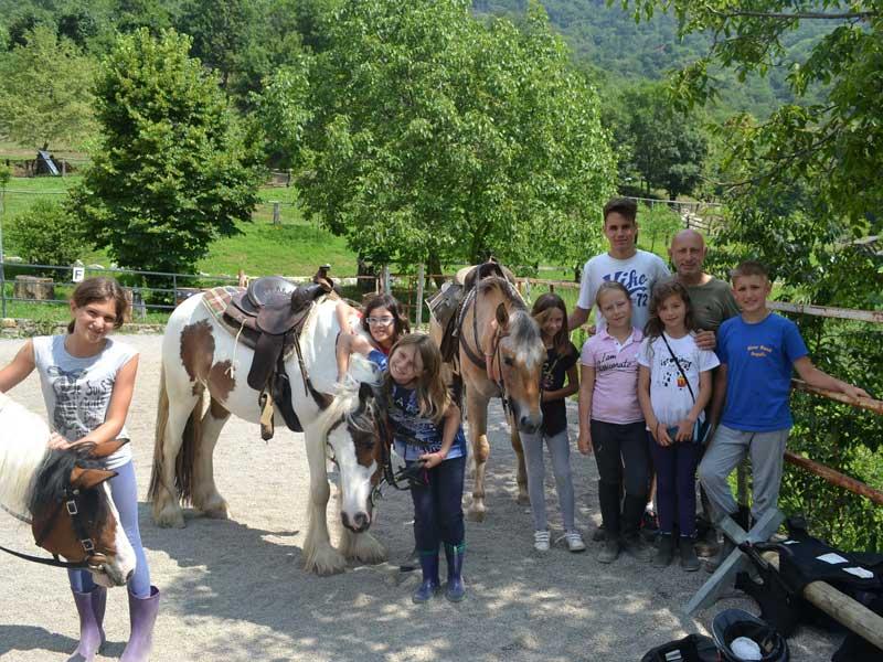 Attività in agriturismo - Scuderia della Valle
