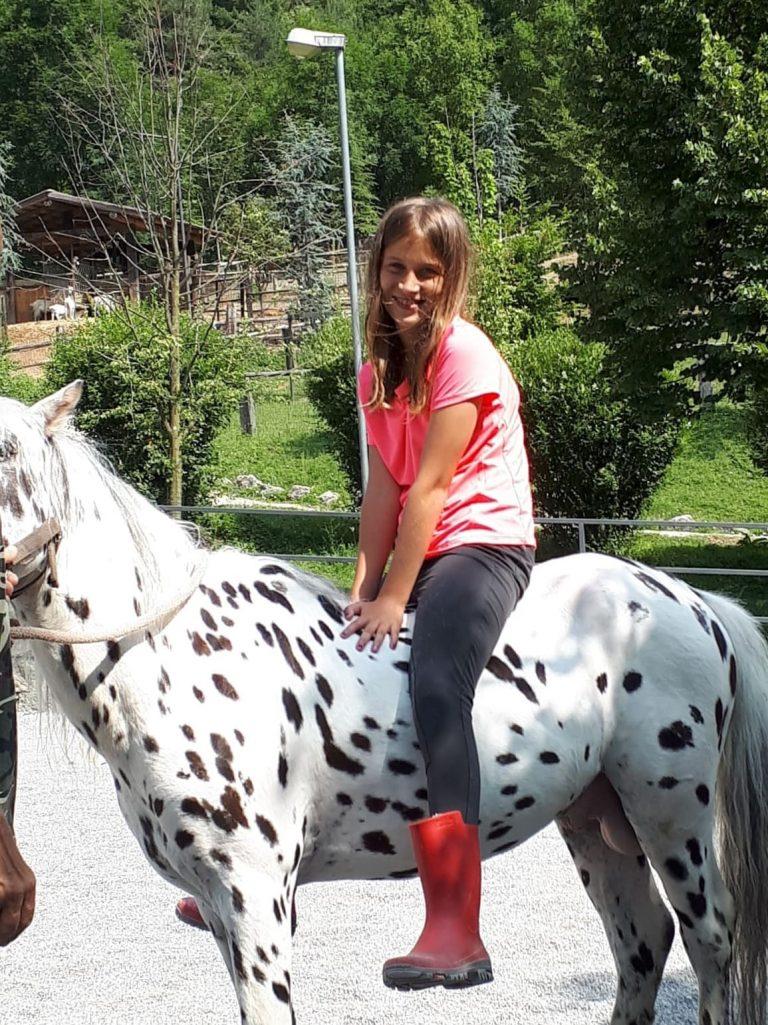 Campo estivo a Bergamo - equitazione - 2