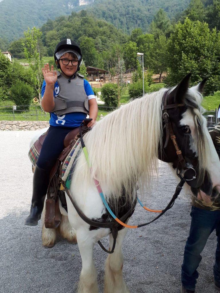 Campo estivo Bergamo - equitazione - 22/27 luglio 2019 - 2