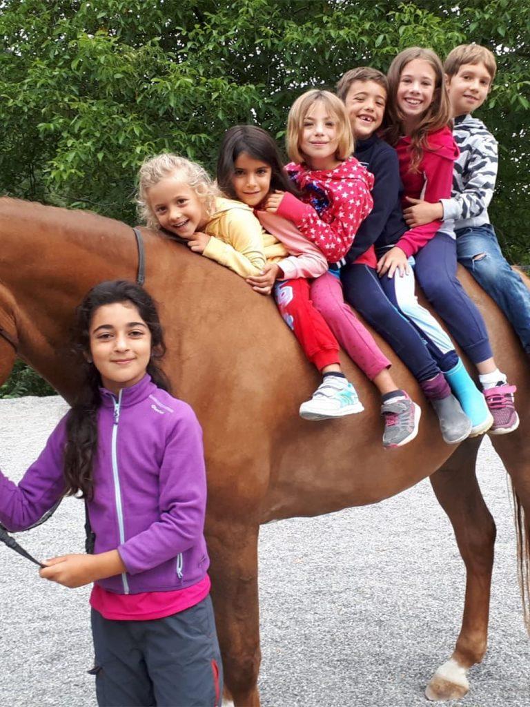 Campo estivo Bergamo - equitazione - 28 luglio/3 agosto 2019 - 2