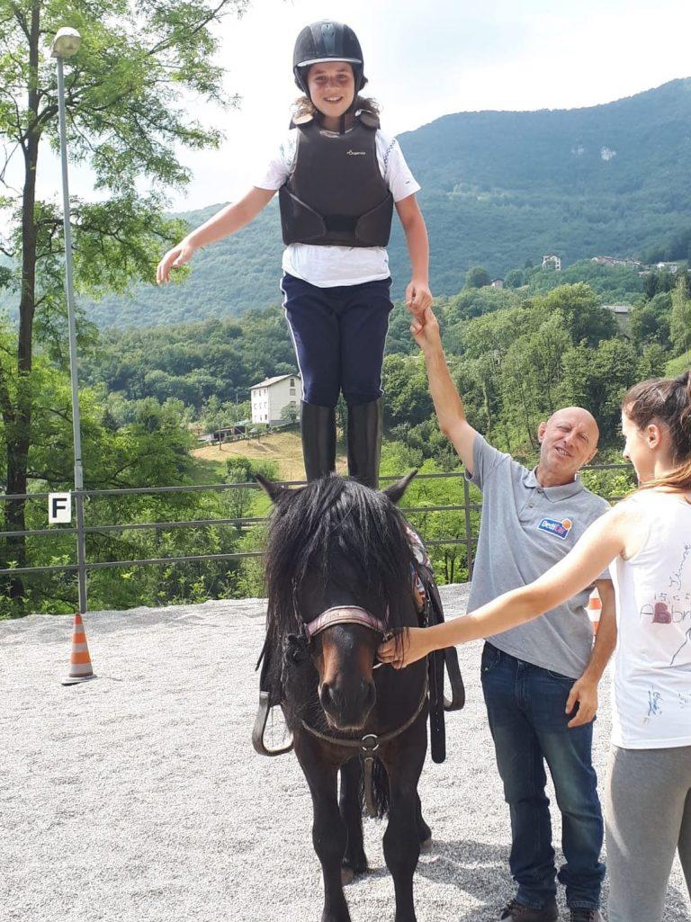 Campo estivo a Bergamo - equitazione - 3