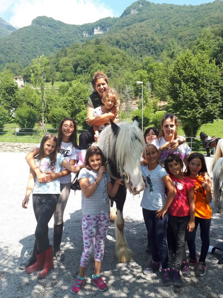 Campo estivo a Bergamo - equitazione - 4