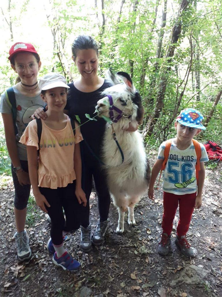 Campo estivo Bergamo - trekking con i lama - 2
